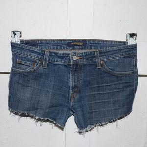 Levi's womens cut off shorts size 13 -2119-